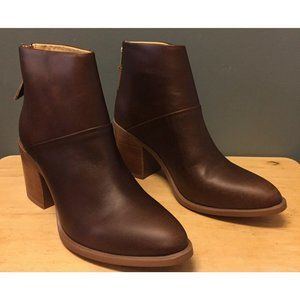 NEW Nisolo Women's Dari Boot Brown Rub Size 8